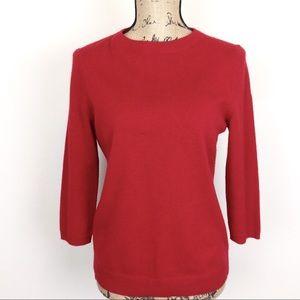 Talbots Crewneck Cashmere Sweater MP -N523